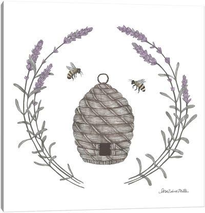 Happy To Bee Home II Canvas Art Print