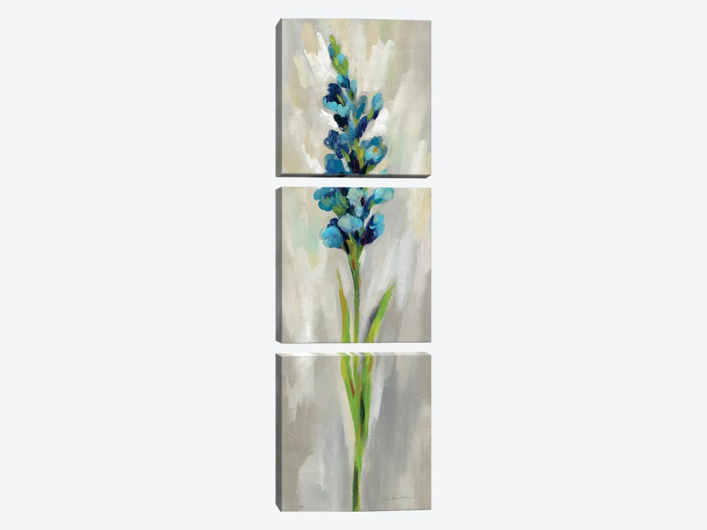 Single Stem Flower I by Silvia Vassileva 3-piece Canvas Art