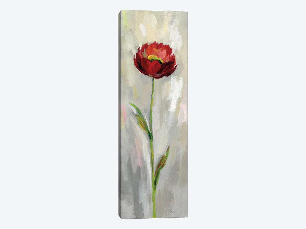 Single Stem Flower II by Silvia Vassileva 1-piece Canvas Print