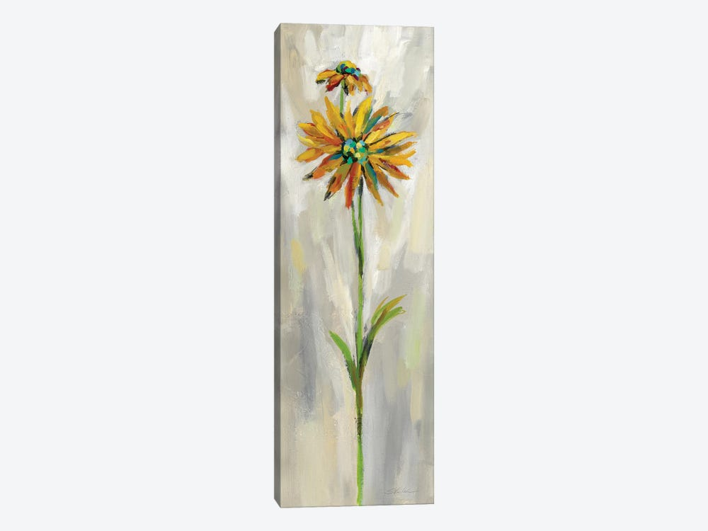 Single Stem Flower III by Silvia Vassileva 1-piece Canvas Wall Art