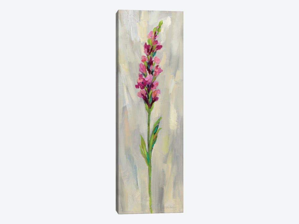 Single Stem Flower IV by Silvia Vassileva 1-piece Canvas Art Print