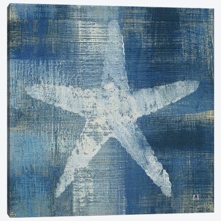 Batik Seas II Canvas Print #WAC7458} by Studio Mousseau Canvas Artwork