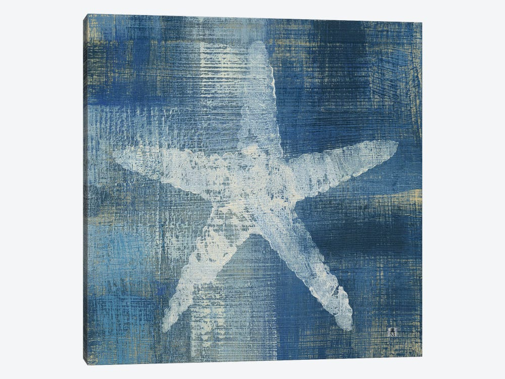 Batik Seas II by Studio Mousseau 1-piece Canvas Artwork