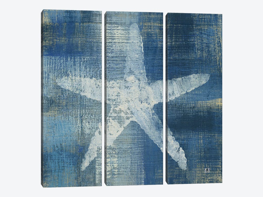 Batik Seas II by Studio Mousseau 3-piece Canvas Art