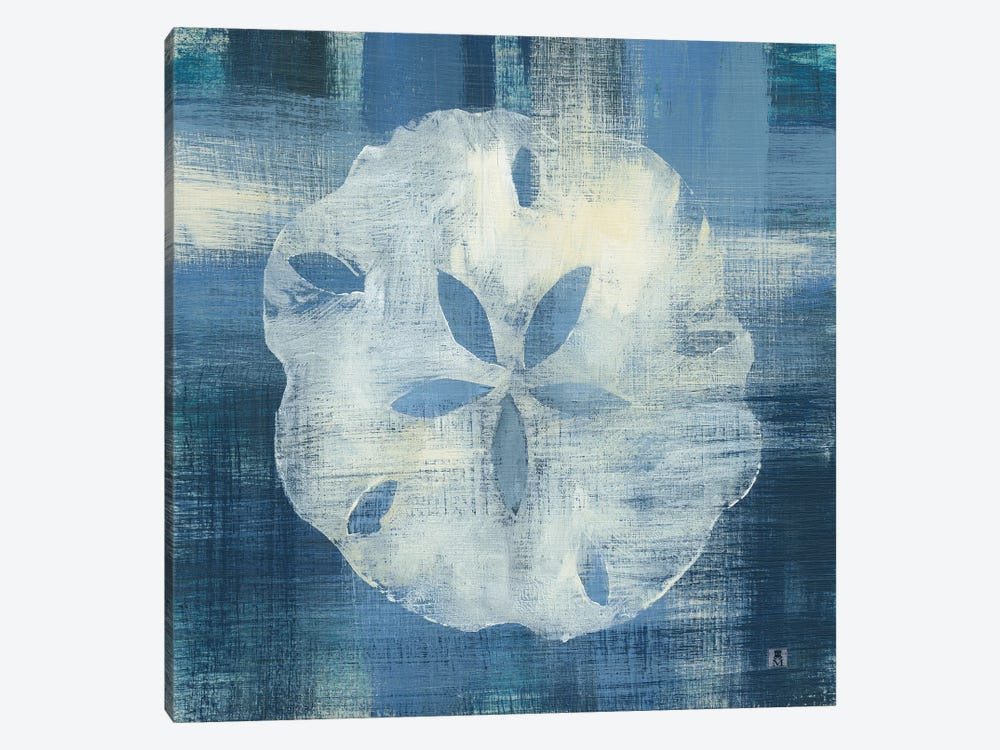Batik Seas III 1-piece Canvas Print