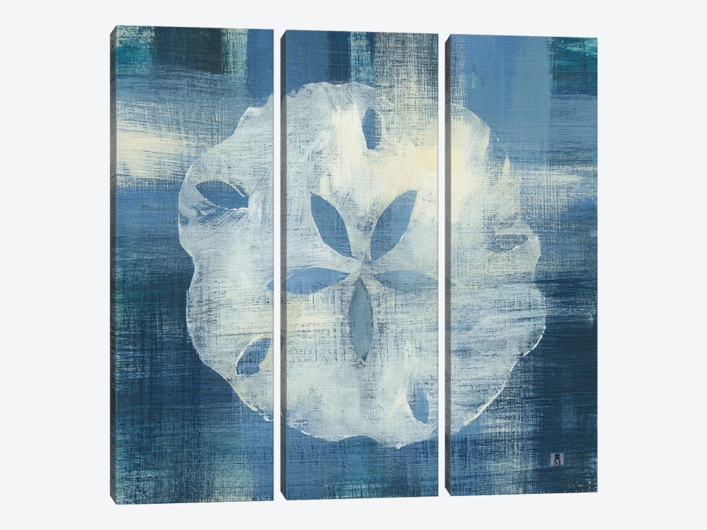 Batik Seas III 3-piece Canvas Art Print