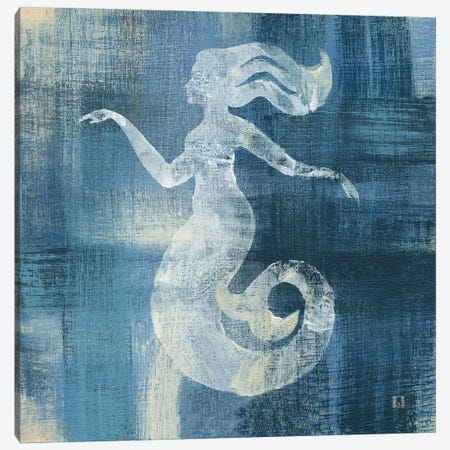 Batik Seas IV Canvas Print #WAC7460} by Studio Mousseau Art Print