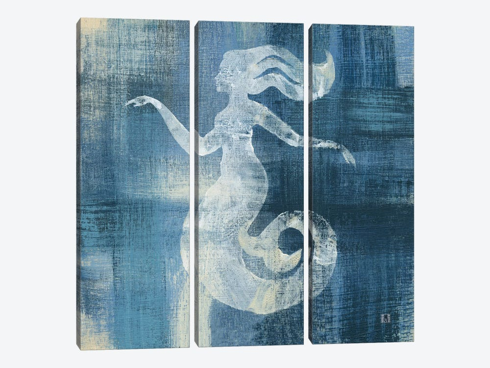 Batik Seas IV by Studio Mousseau 3-piece Canvas Art Print