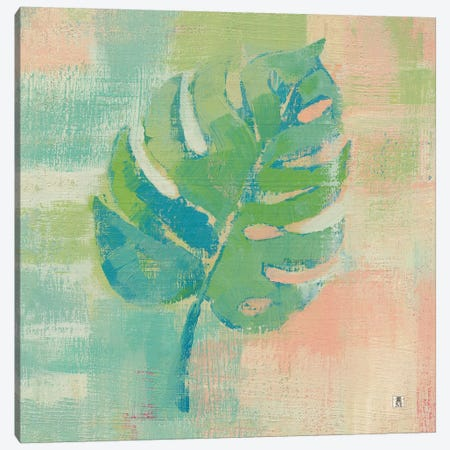 Beach Cove Leaves I Canvas Print #WAC7461} by Studio Mousseau Canvas Art Print