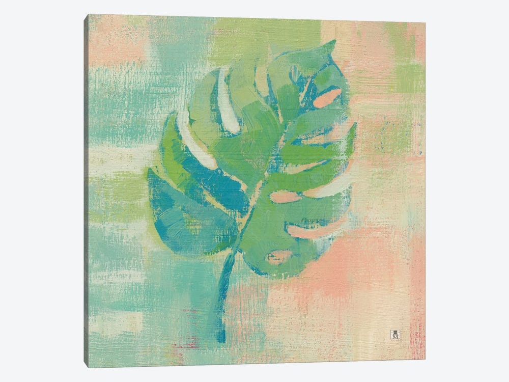Beach Cove Leaves I by Studio Mousseau 1-piece Canvas Art