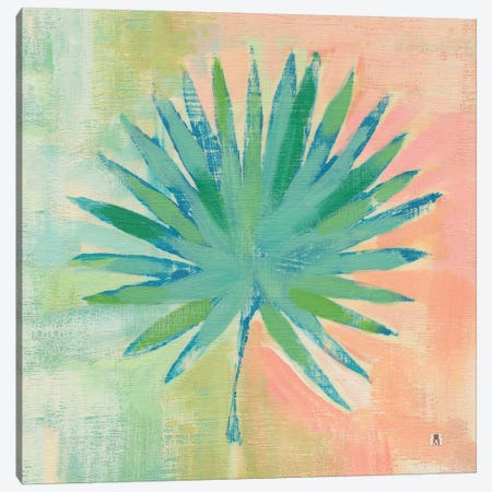 Beach Cove Leaves II Canvas Print #WAC7462} by Studio Mousseau Canvas Art Print