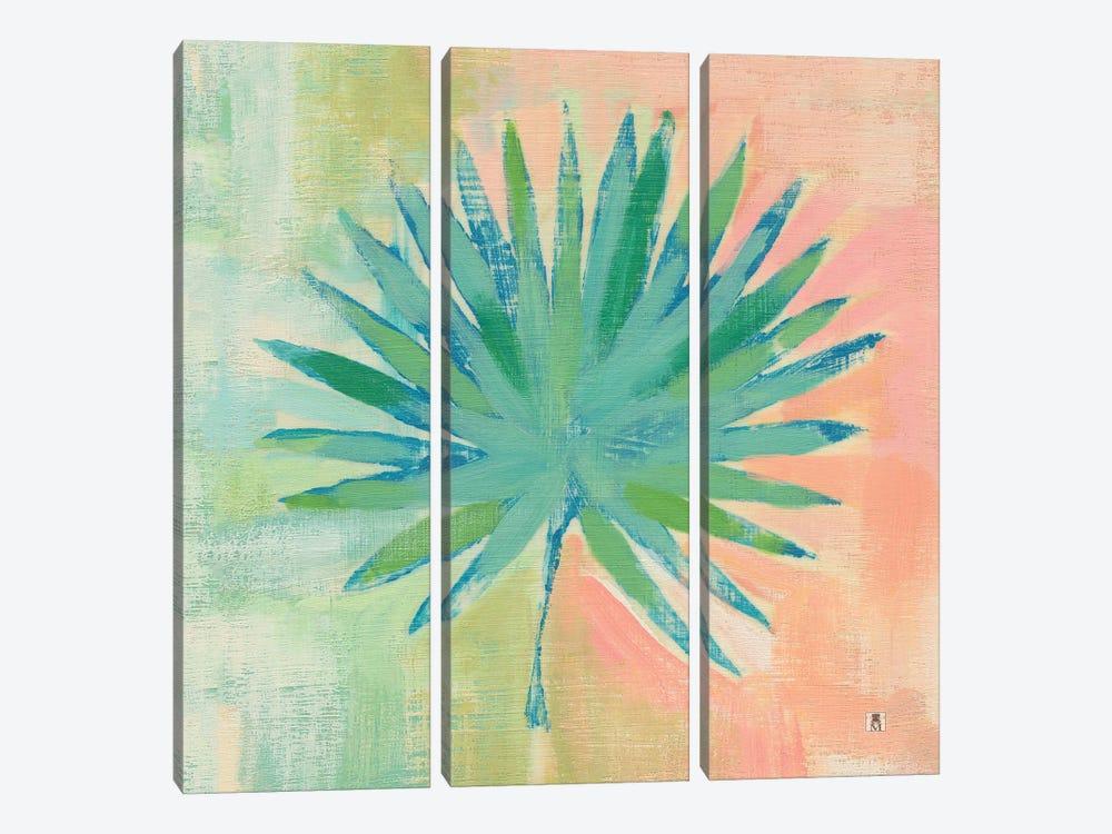 Beach Cove Leaves II by Studio Mousseau 3-piece Canvas Art Print