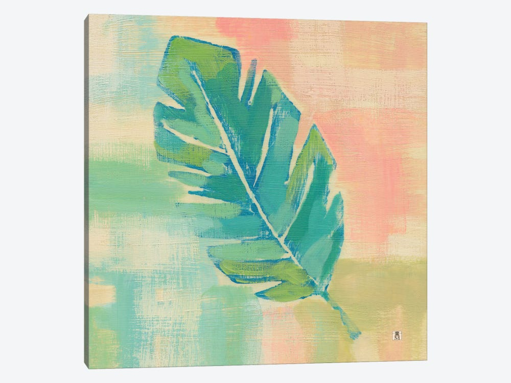 Beach Cove Leaves III by Studio Mousseau 1-piece Canvas Art