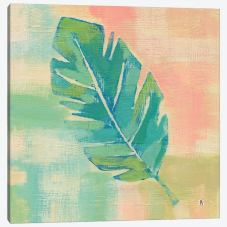 Beach Cove Leaves III Canvas Print #WAC7463} by Studio Mousseau Canvas Print