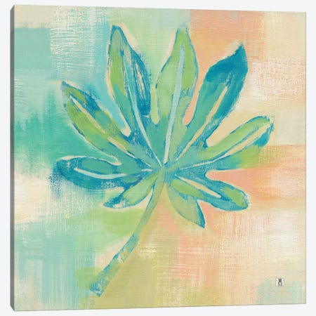 Beach Cove Leaves IV Canvas Print #WAC7464} by Studio Mousseau Canvas Artwork