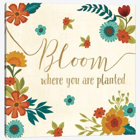 Flourish I Canvas Print #WAC7465} by Veronique Charron Canvas Art