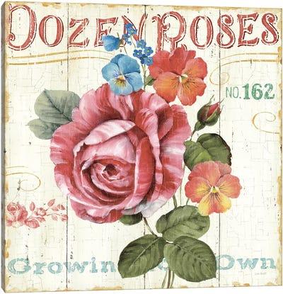 Rose Garden II Canvas Print #WAC746
