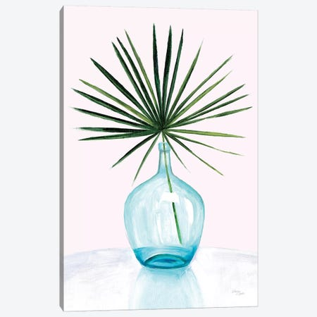 Statement Palms I Canvas Print #WAC7479} by Wellington Studio Canvas Wall Art