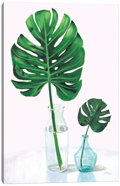 Statement Palms II Canvas Art Print