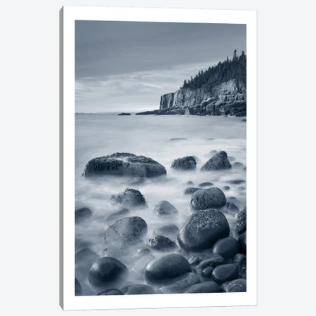 Acadia Coast, With Border Canvas Print #WAC7484} by Alan Majchrowicz Canvas Artwork