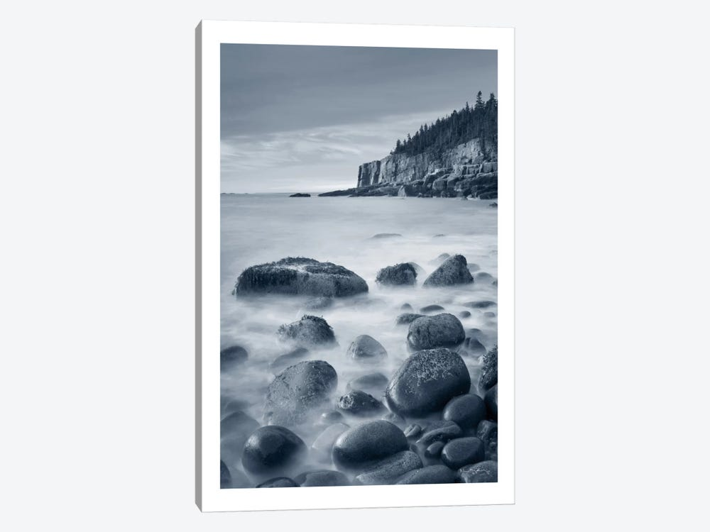 Acadia Coast, With Border by Alan Majchrowicz 1-piece Canvas Art Print