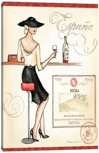 Wine Event I  Canvas Print #WAC74