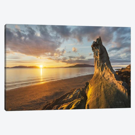 Samish Bay Sunset I Canvas Print #WAC7506} by Alan Majchrowicz Canvas Art Print