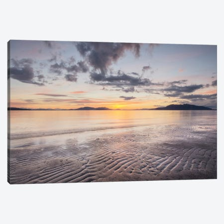 Samish Bay Sunset II Canvas Print #WAC7507} by Alan Majchrowicz Canvas Print