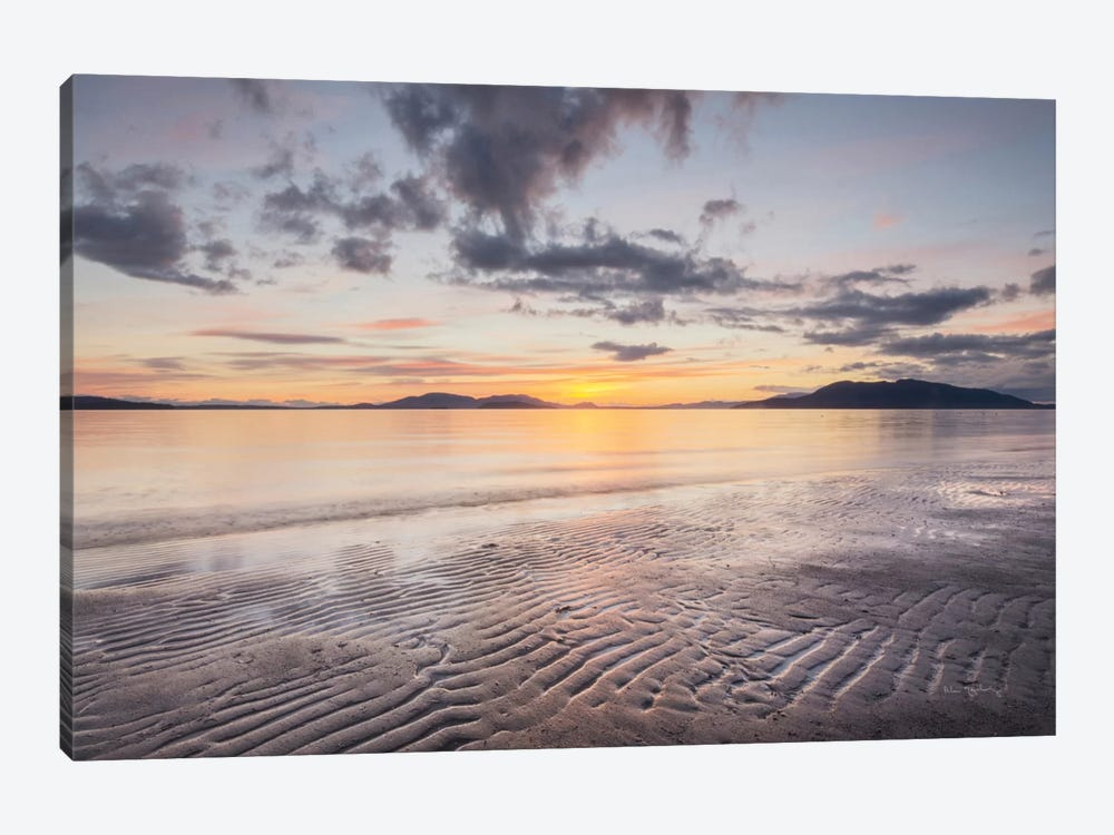 Samish Bay Sunset II by Alan Majchrowicz 1-piece Canvas Print