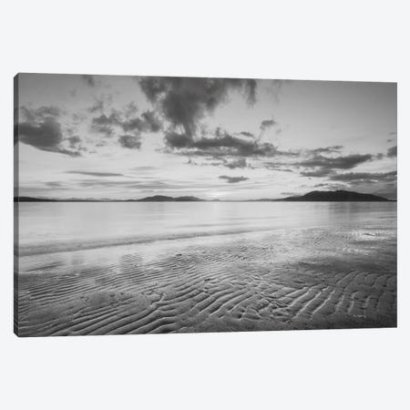 Samish Bay Sunset, B&W II Canvas Print #WAC7509} by Alan Majchrowicz Canvas Wall Art