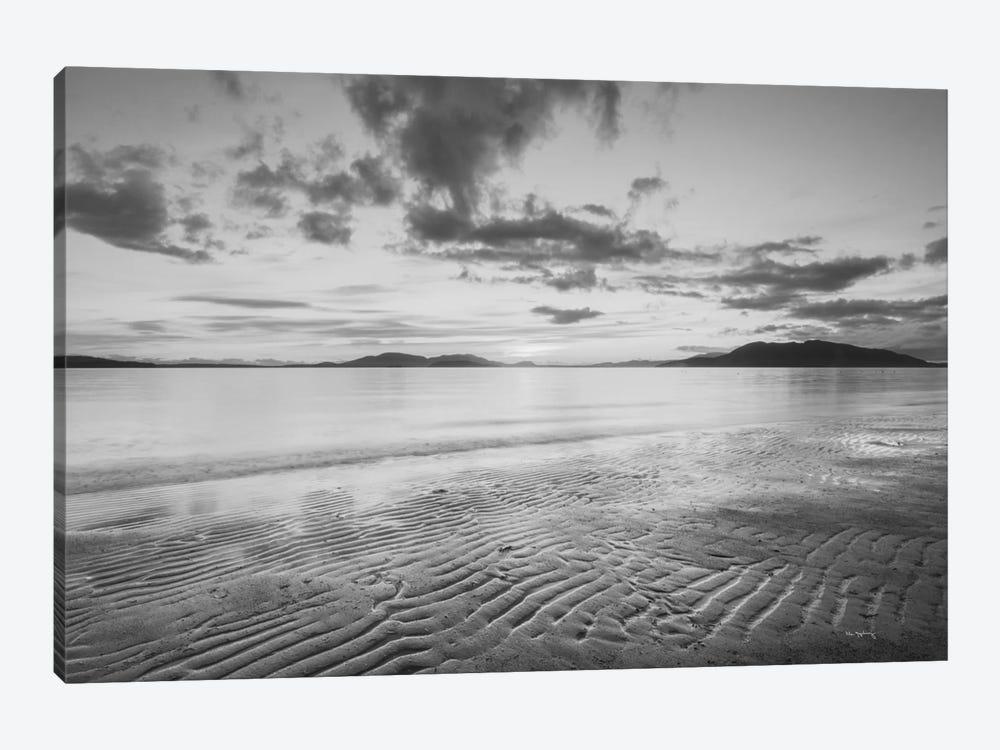 Samish Bay Sunset, B&W II by Alan Majchrowicz 1-piece Canvas Print