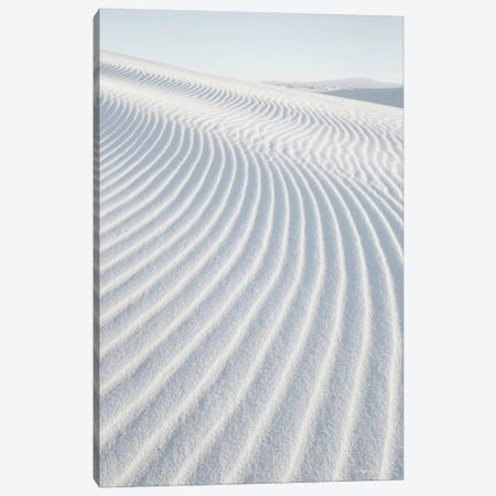 White Sands I, No Border Canvas Print #WAC7510} by Alan Majchrowicz Art Print