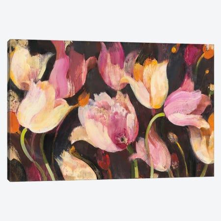 Popping Tulips Canvas Print #WAC7518} by Albena Hristova Art Print