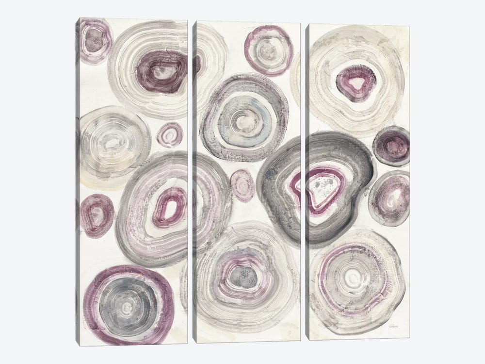 Rings Of Power by Albena Hristova 3-piece Canvas Wall Art