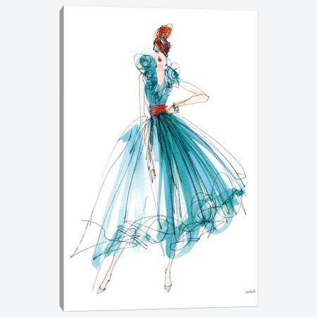 Colorful Fashion II Canvas Print #WAC7522} by Anne Tavoletti Canvas Art