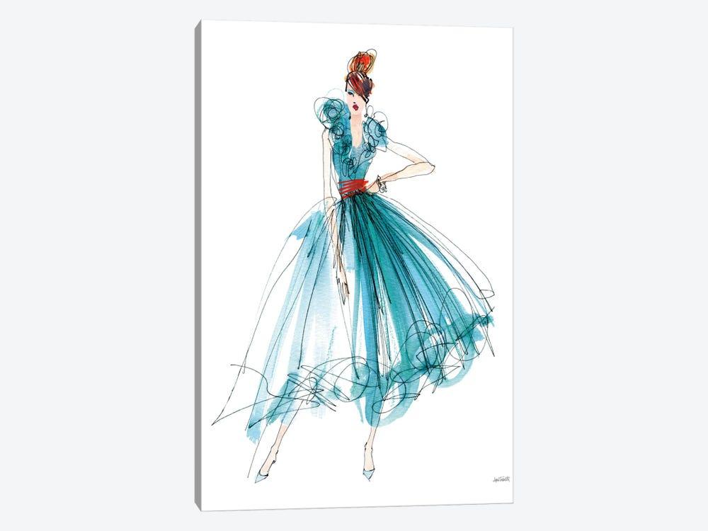 Colorful Fashion II by Anne Tavoletti 1-piece Canvas Artwork