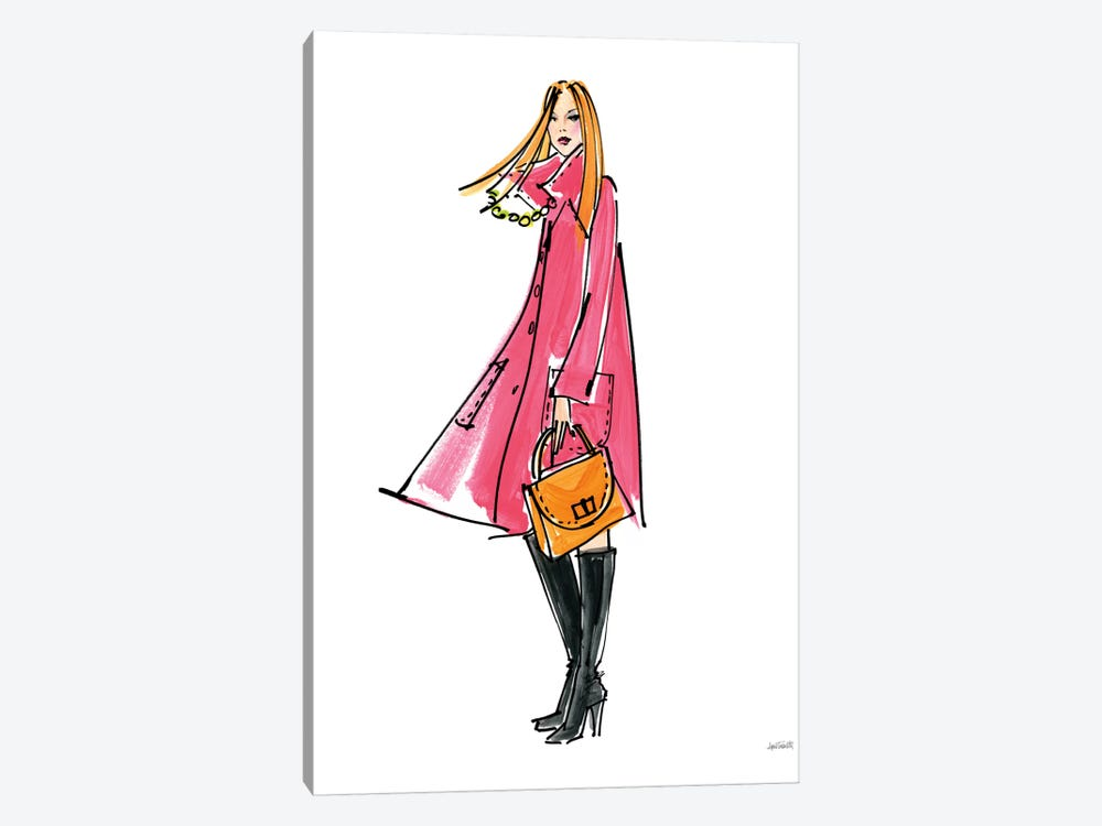 Colorful Fashion III 1-piece Canvas Art Print