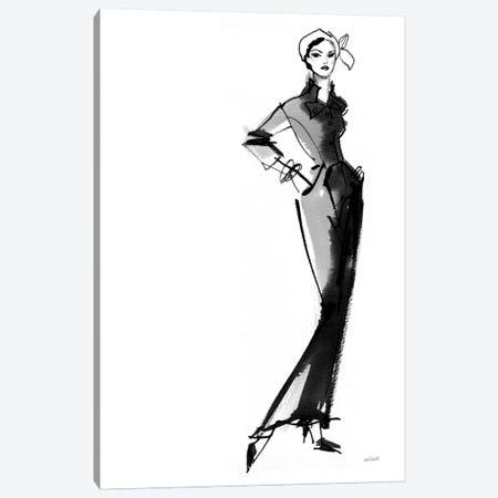 Fifties Fashion III Canvas Print #WAC7527} by Anne Tavoletti Canvas Art Print