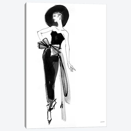 Fifties Fashion IV Canvas Print #WAC7528} by Anne Tavoletti Canvas Art