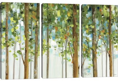 Forest Study I Crop Canvas Art Print