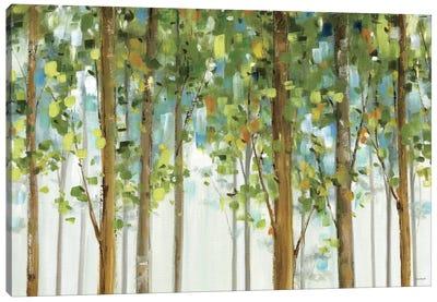 Forest Study I Crop Canvas Art Print