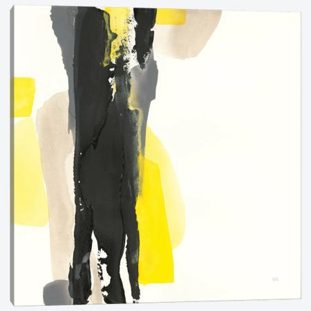 Black And Yellow II Canvas Print #WAC7560} by Chris Paschke Canvas Art