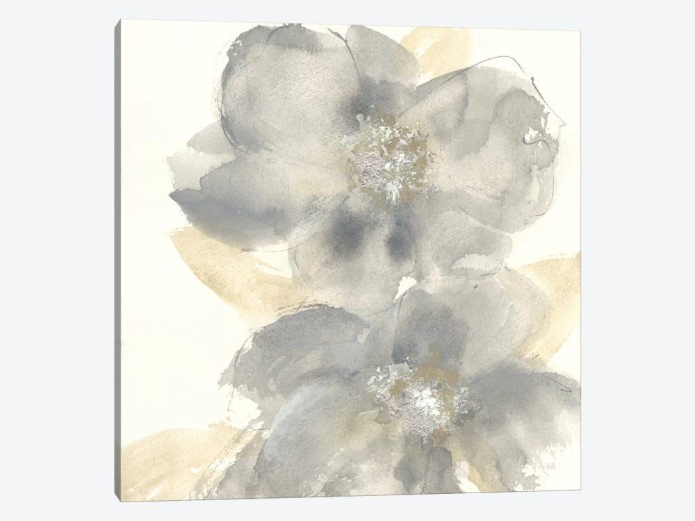 Floral Gray II by Chris Paschke 1-piece Canvas Art