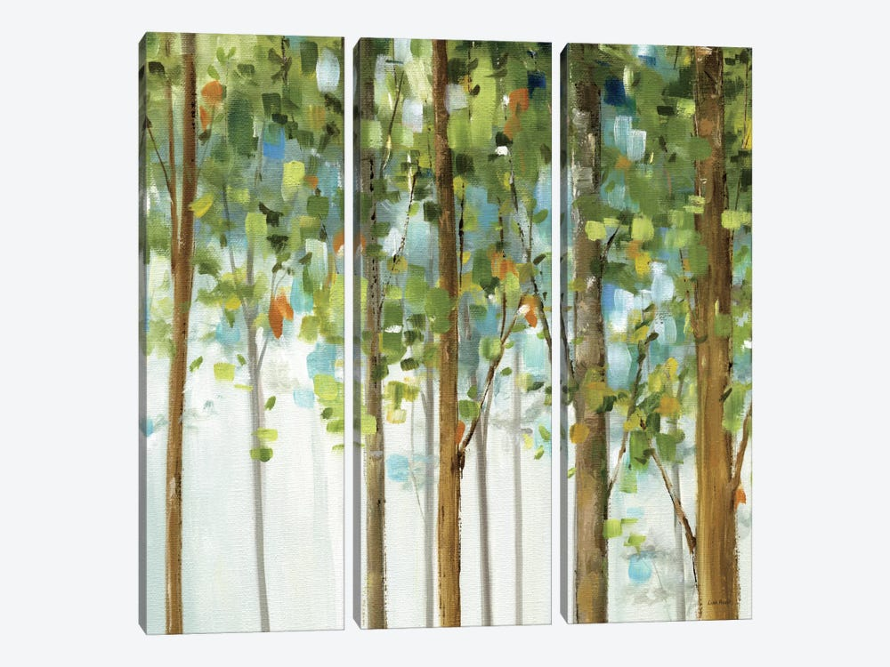 Forest Study III by Lisa Audit 3-piece Art Print