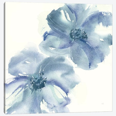 Indigo Mint II Canvas Print #WAC7587} by Chris Paschke Canvas Art Print