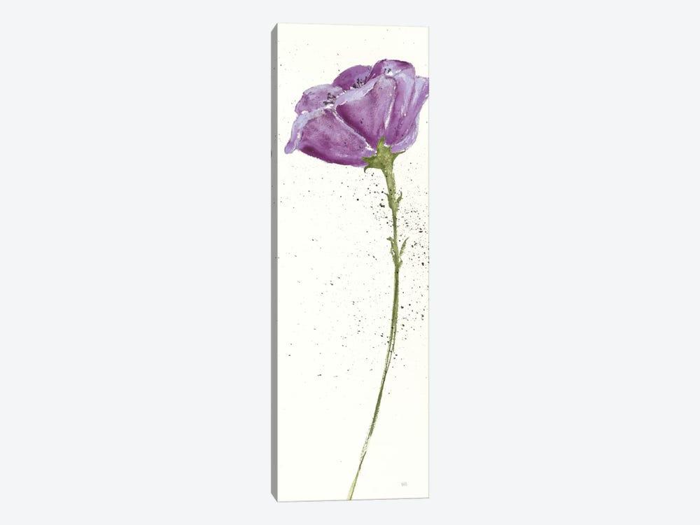 Mint Poppies In Purple II by Chris Paschke 1-piece Canvas Wall Art