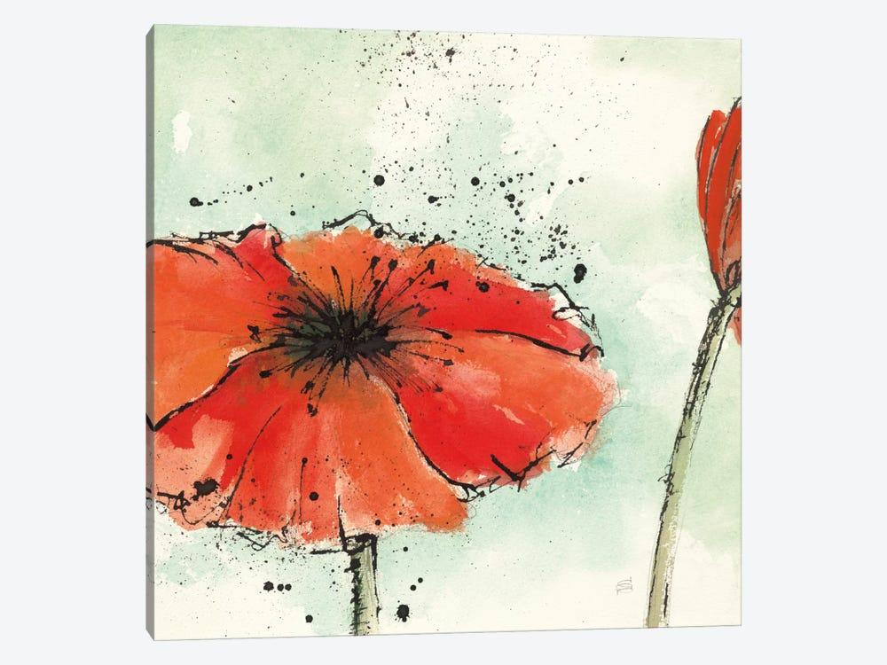 Not A California Poppy III.B by Chris Paschke 1-piece Canvas Art Print