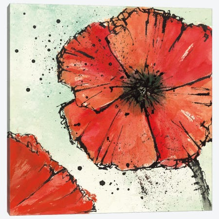 Not A California Poppy IV.B Canvas Print #WAC7595} by Chris Paschke Canvas Artwork