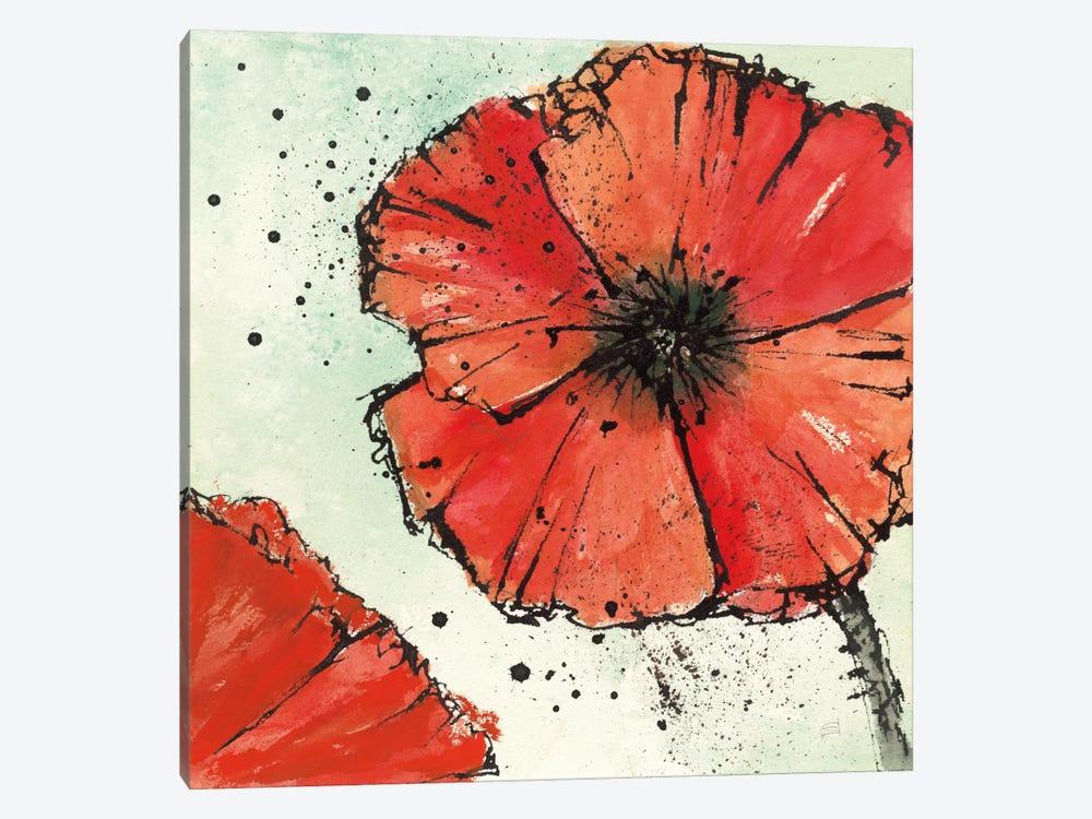 Not A California Poppy IV.B by Chris Paschke 1-piece Canvas Art