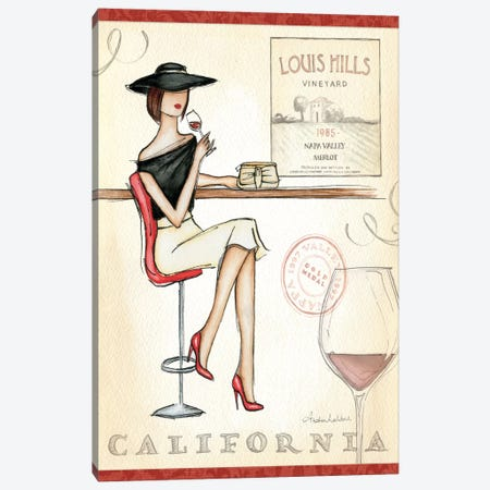 Wine Event II  Canvas Print #WAC75} by Andrea Laliberte Canvas Art Print